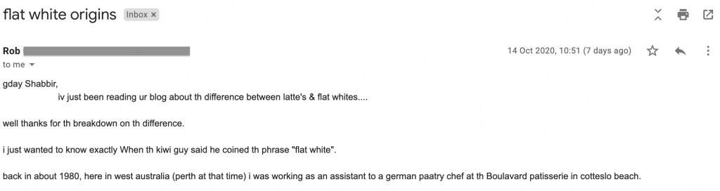 rob flat white email