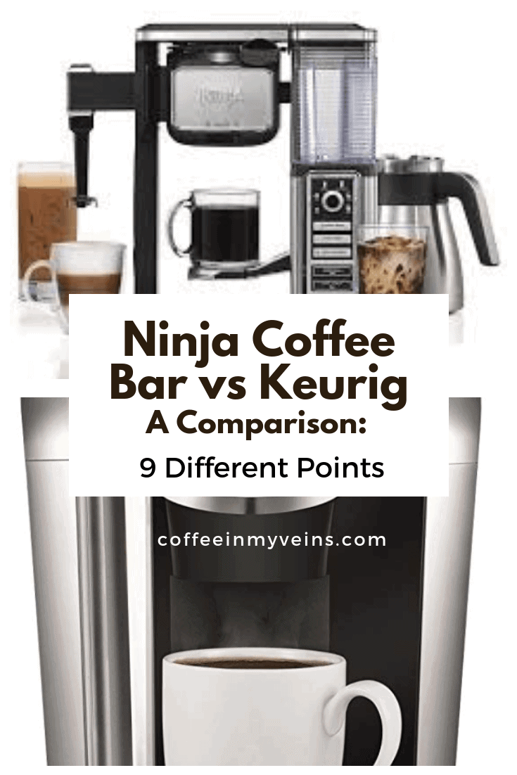 ninja coffee bar vs keurig pin