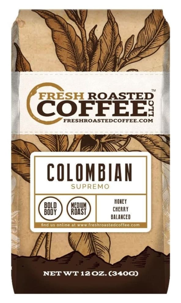 fresh roasted colombian