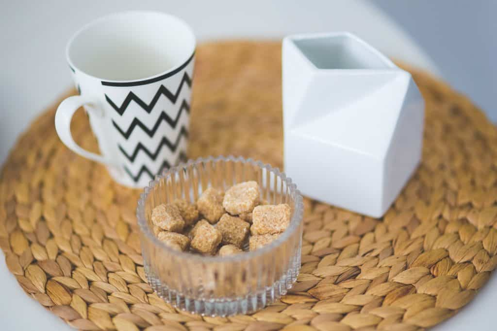 adding brown sugar to coffee is a neat way to sweeten it
